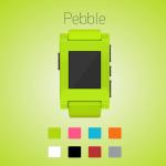 Pebble hodinky