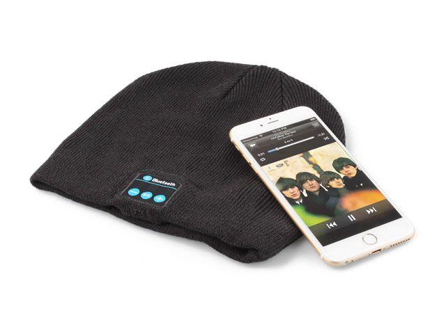 Zimní čepice s BT headsetem