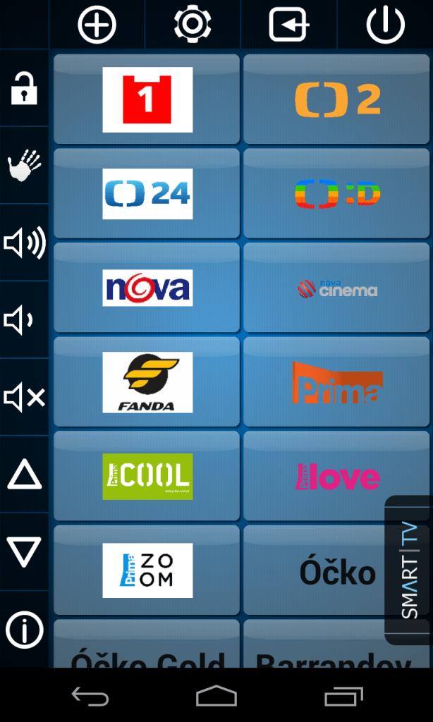 Nastavení kanálů ve Smart TV Remote