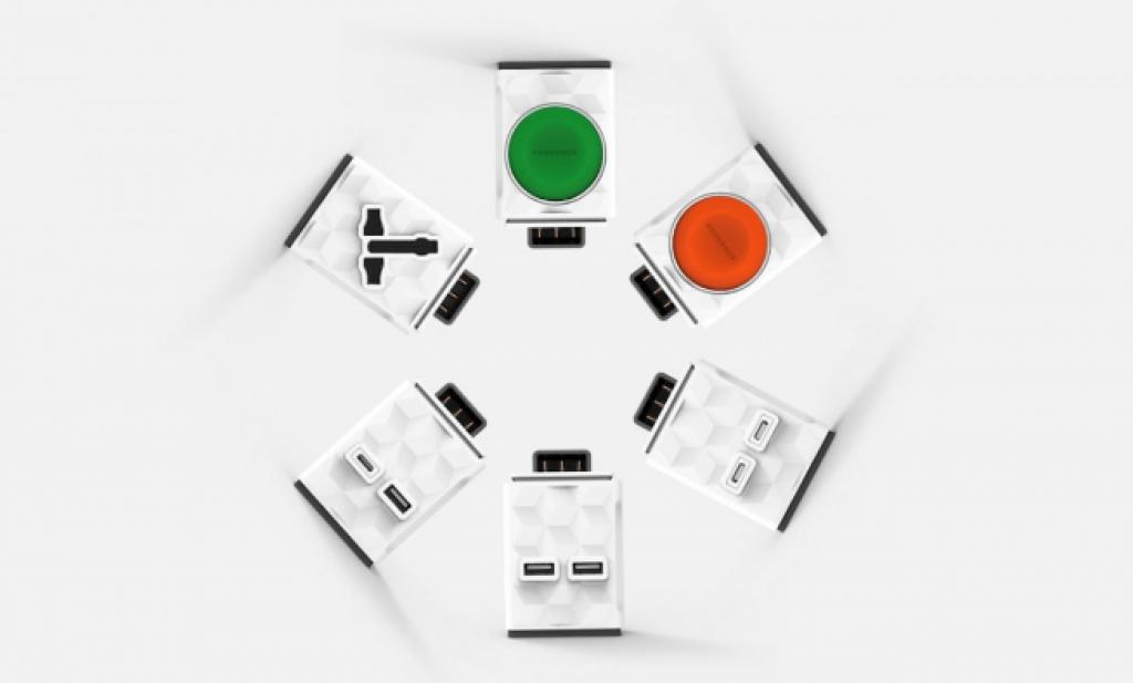 Zásuvková lišta PowerStrip Modular je skvělým řešením nejen pro geeky