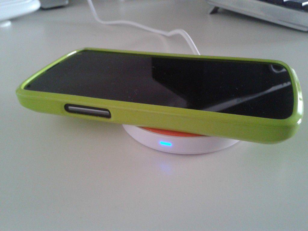 Qi bezdrátová nabíječka pro Samsung Galaxy Note 2 3 LG Nexus 4 5 Nokia