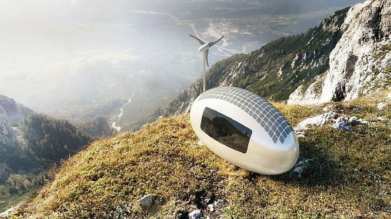 Ecocapsule: kompaktní a nízkoenergetické bydlení budoucnosti?
