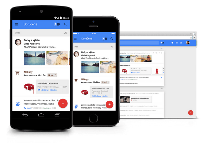 Koketování s Inbox by Gmail a jak to dopadlo