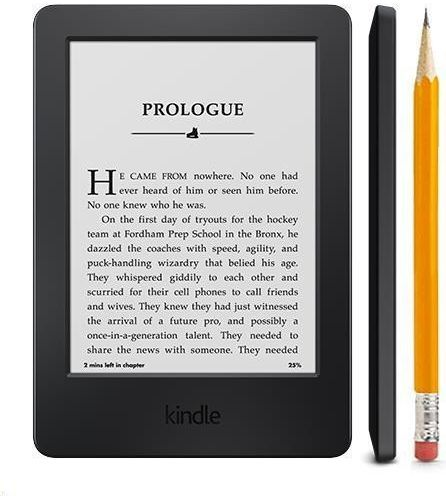 Moje dojmy z Kindle 6 Touch