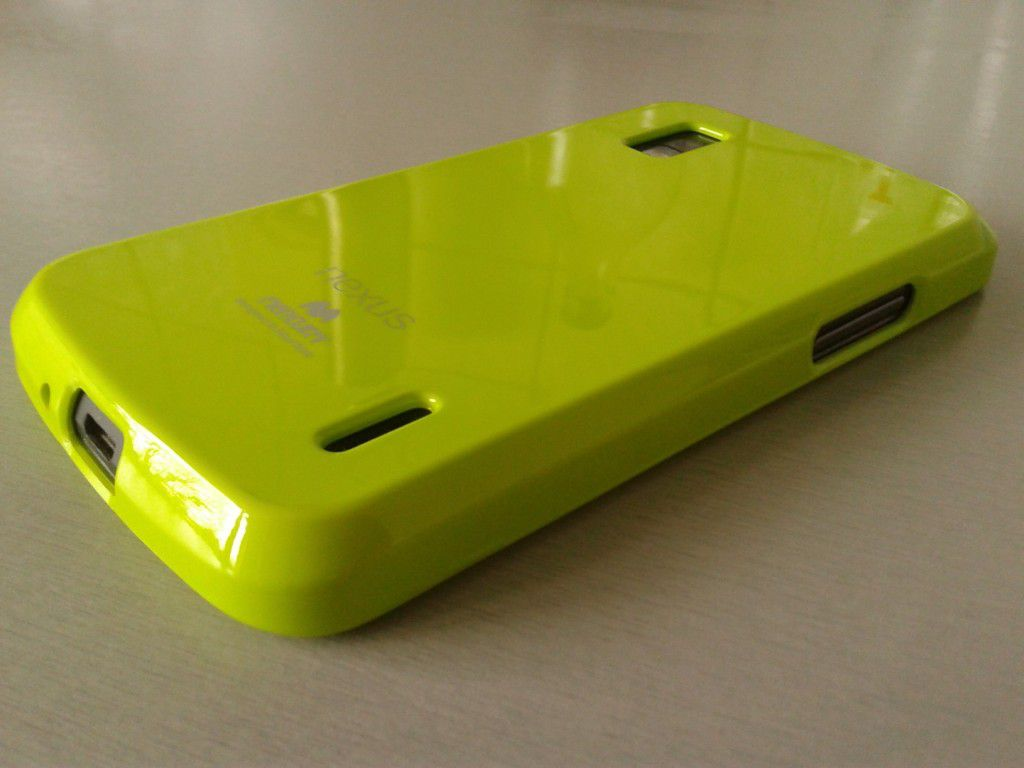 TPU obal od Mercury pro Nexus 4