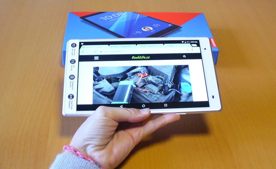 Tablet Lenovo TAB 4 8″ plus – oplatí se prémiový prcek?