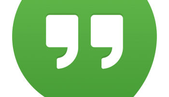 Hangouts nově i jako aplikace pro Chrome