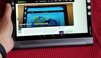 Lenovo Yoga Tablet 3 Pro: více zábavy, méně práce s 10 palci