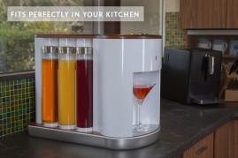 Podpořte robotický koktejlovač, který umí připravit až 300 drinků