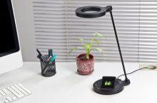 Sviťte a dobíjejte bezdrátově s lampou Wasserstein QI Wireless