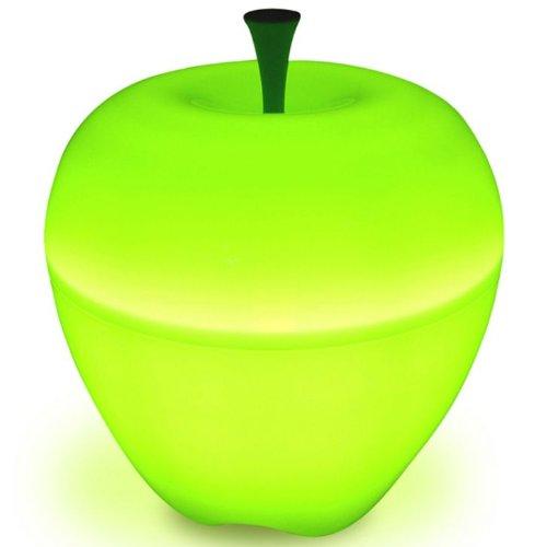 Qualy Large Green Happle Apple Lamp